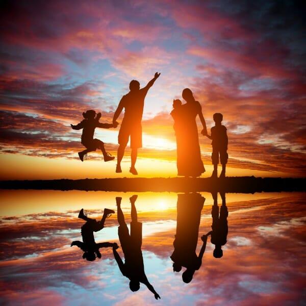 家族の幸せを取り戻すイメージ