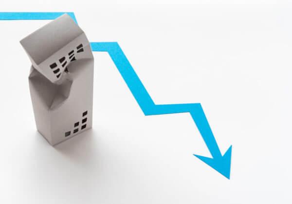 マンション価格が下がるイメージ