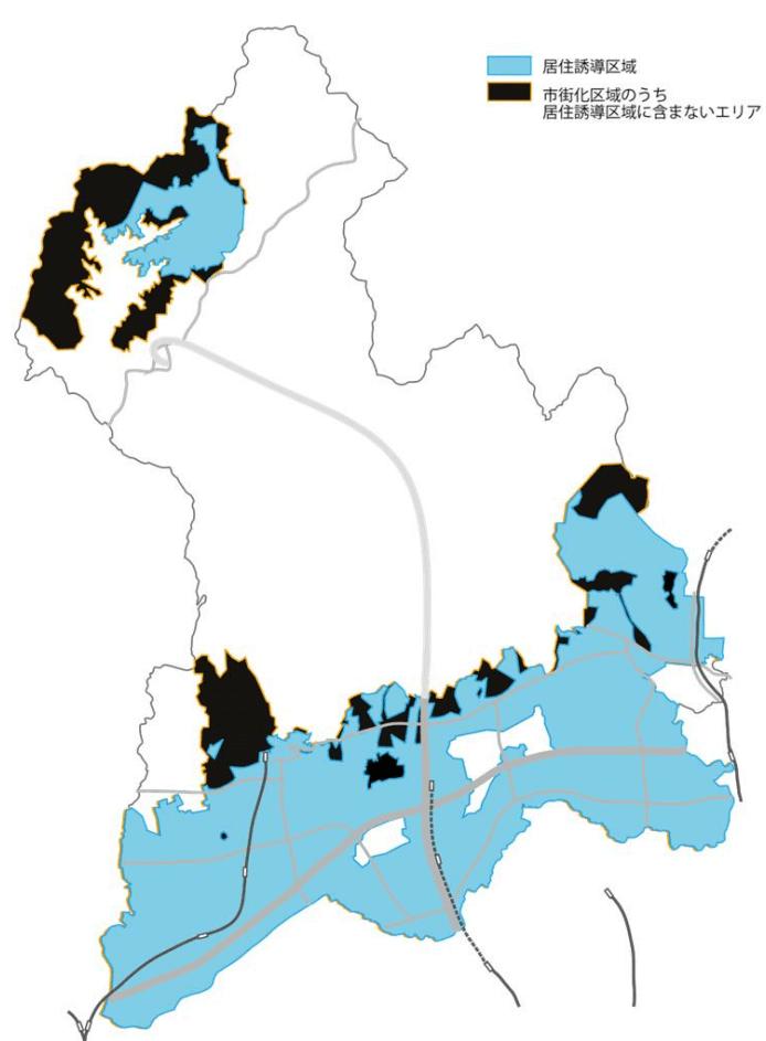 箕面市の居住誘導区域