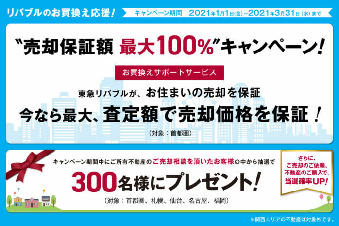東急リバブルキャンペーン
